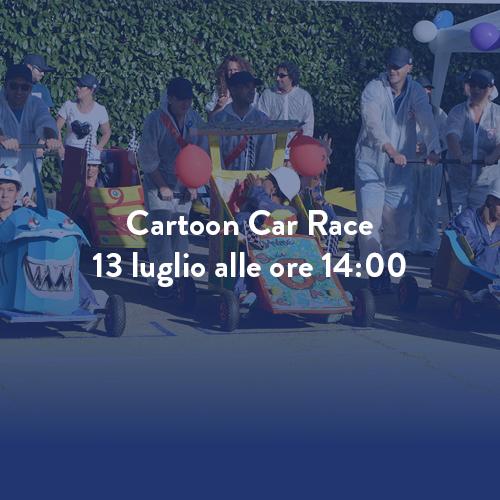 Cartoon Car Race