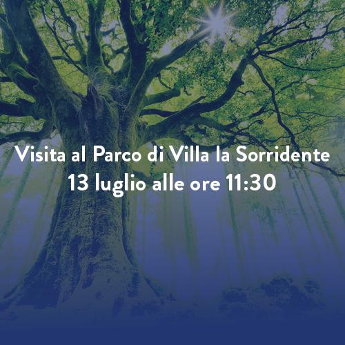 Visita al Parco di Villa la Sorridente